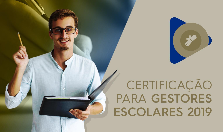 Course Image Curso de Certificação para Gestores da Rede Estadual 2019